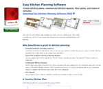 Smartdraw's Easy Cucina Planning Software