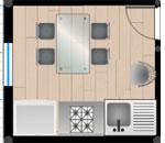Design cucina 2d online progettazione cucina bidimensionale for Planner cucina